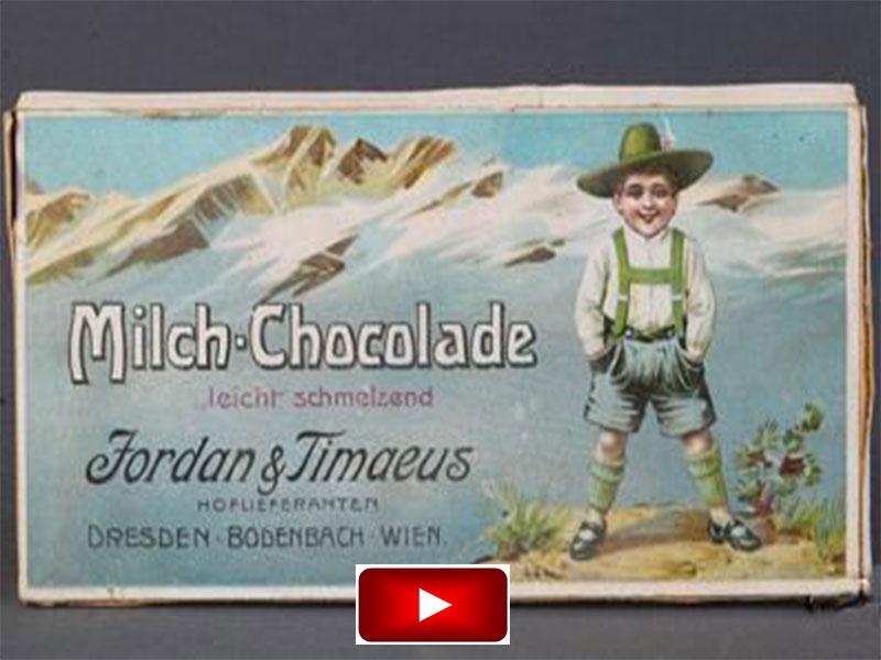 Vollmilchschokolade – Eine Dresdner Erfindung