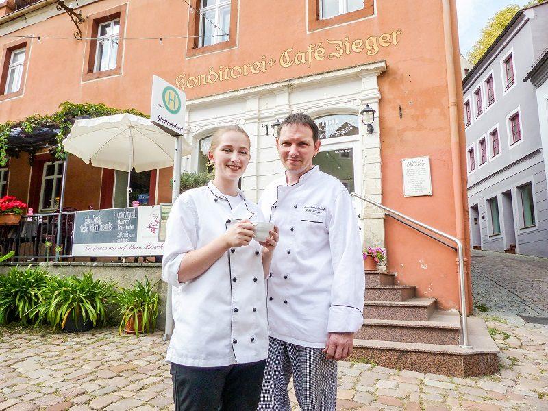 Bautzener Bote: Dresdner Schokoladenmädchen in Meißen neu erweckt